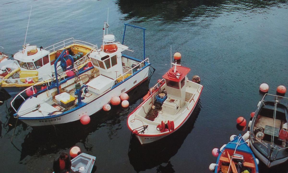 Ouessant port du stiff 1992